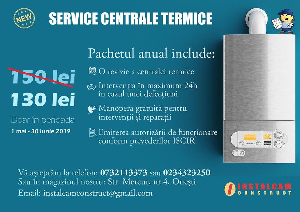 Verificare centrala termica